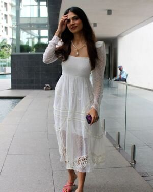 Photos: Malavika Mohanan Snapped During Birthday Celebration   Picture 1820778