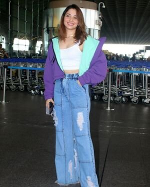 Tamanna Bhatia - Photos: Celebs Spotted At Airport | Picture 1820829