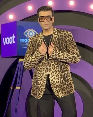 Photos: Karan Johar Spotted On The Set Of Bigg Boss | Picture 1820836