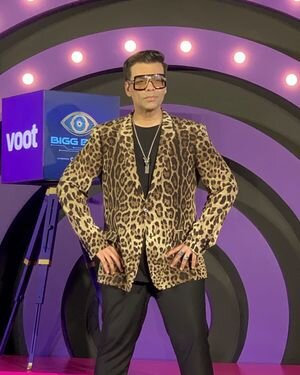 Photos: Karan Johar Spotted On The Set Of Bigg Boss | Picture 1820834