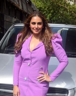 Huma Qureshi - Photos: Promotion Of Film Bell Bottom At Pooja Entertainment Office | Picture 1820845