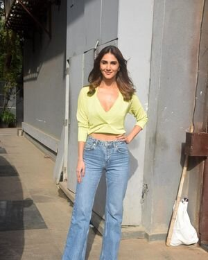 Bell Bottom (2021) - Photos: Promotion Of Film Bell Bottom At Pooja Entertainment Office