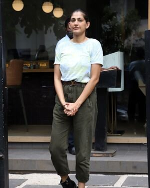 Kubbra Sait - Photos: Celebs Spotted At Bandra | Picture 1820893