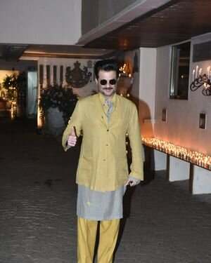 Anil Kapoor - Photos: Celebs At Rhea Kapoor Wedding Party At Anil Kapoor's House | Picture 1822227