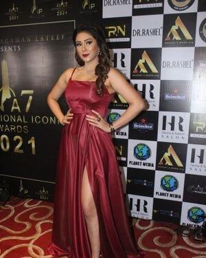 Hiba Nawab - Photos: Celebs At The Red Carpet International Iconic Awards Season 7 | Picture 1822150