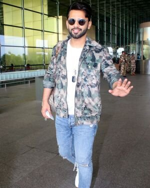 Rahul Vaidya - Photos: Celebs Spotted At Airport | Picture 1823583