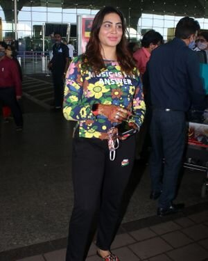 Arshi Khan - Photos: Celebs Spotted At Airport | Picture 1823606