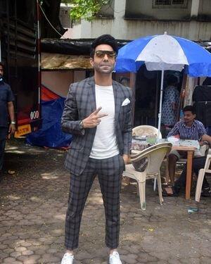Aparshakti Khurana - Photos: Helmet Movie Promotion At Mumbai   Picture 1824714