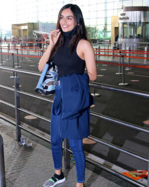 Manushi Chhillar - Photos: Celebs Spotted At Airport | Picture 1771388