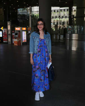 Kajal Aggarwal - Photos: Celebs Spotted At Airport | Picture 1771406