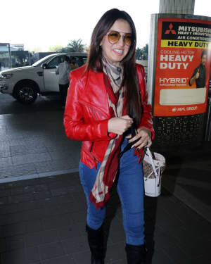 Hansika Motwani - Photos: Celebs Spotted At Airport | Picture 1771352