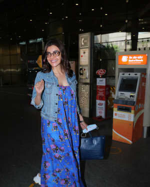 Kajal Aggarwal - Photos: Celebs Spotted At Airport | Picture 1771405