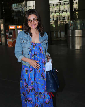 Kajal Aggarwal - Photos: Celebs Spotted At Airport | Picture 1771414