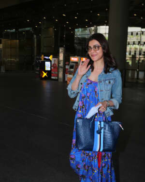 Kajal Aggarwal - Photos: Celebs Spotted At Airport | Picture 1771411