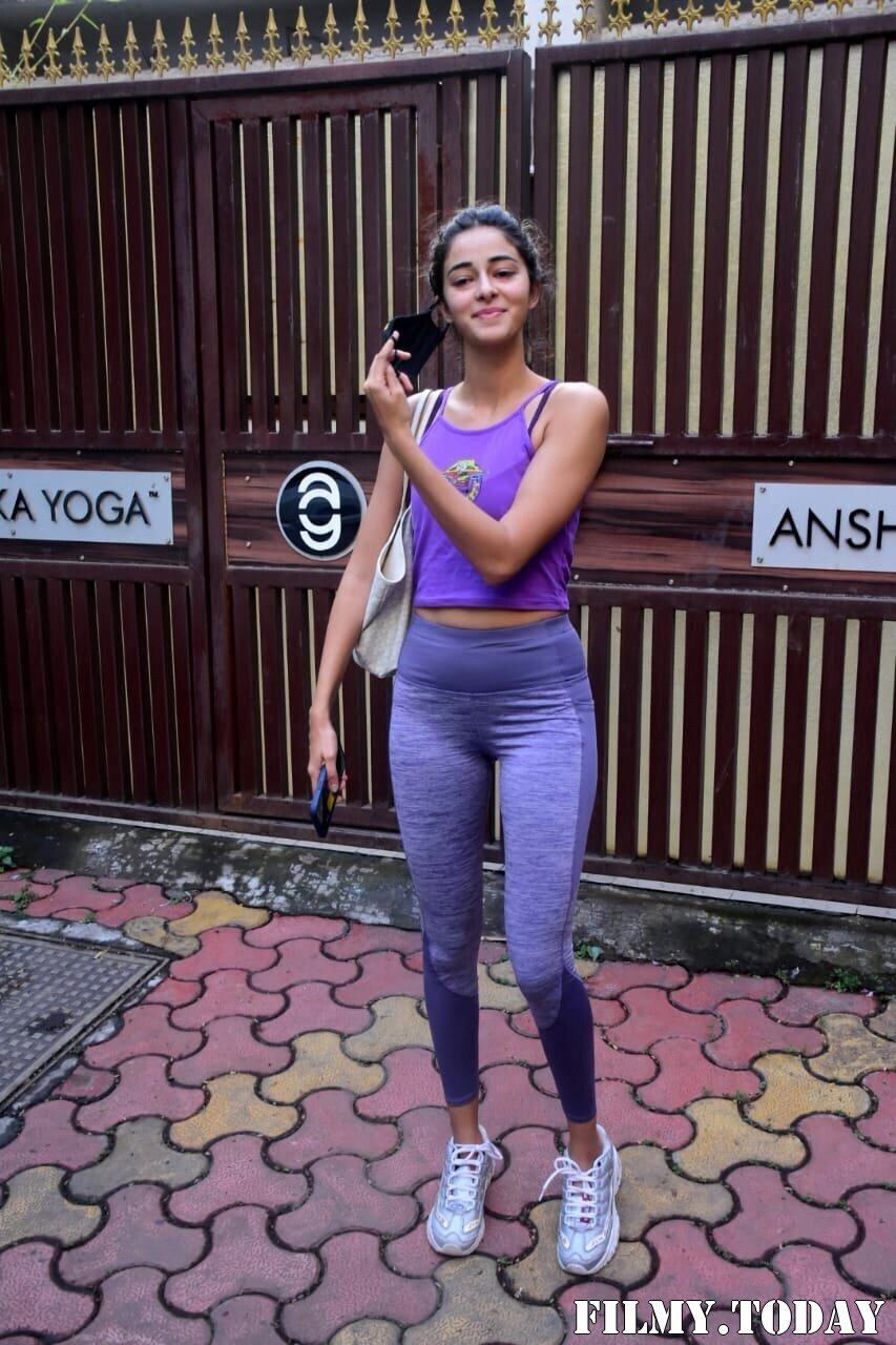 Ananya Panday - Photos: Celebs Spotted At Yoga Class | Picture 1771335