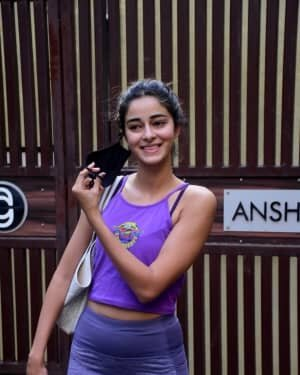 Ananya Panday - Photos: Celebs Spotted At Yoga Class | Picture 1771338