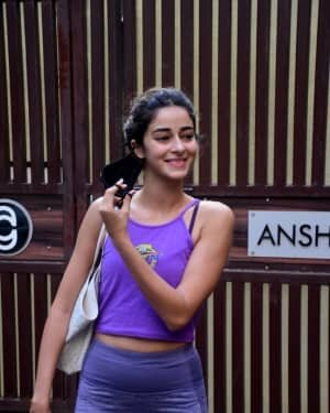 Ananya Panday - Photos: Celebs Spotted At Yoga Class | Picture 1771336