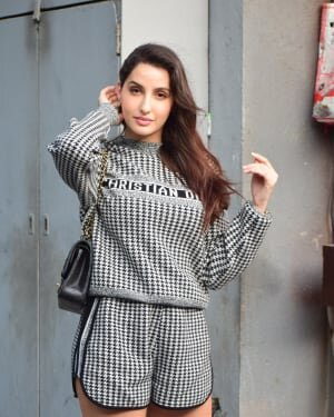 Photos: Nora Fateh Spotted At Pooja Entertainment Office