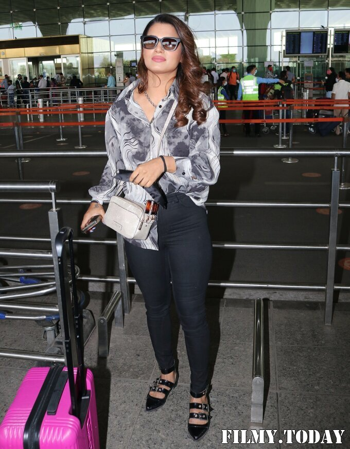 Naina Singh - Photos: Celebs Spotted At Airport   Picture 1772721