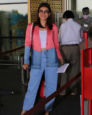 Kajal Aggarwal - Photos: Celebs Spotted At Airport | Picture 1775207