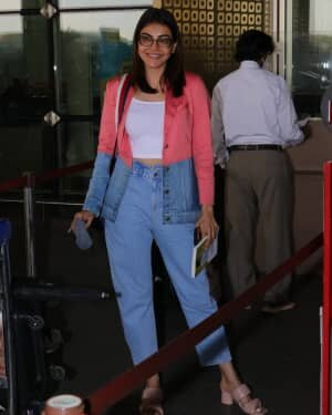 Kajal Aggarwal - Photos: Celebs Spotted At Airport | Picture 1775200