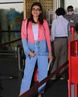 Kajal Aggarwal - Photos: Celebs Spotted At Airport | Picture 1775203