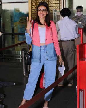 Kajal Aggarwal - Photos: Celebs Spotted At Airport | Picture 1775211