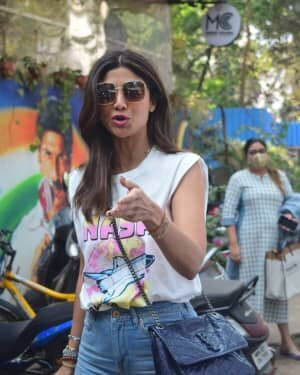 Photos: Shilpa Shetty Spotted Mukesh Chhabra Office | Picture 1776388