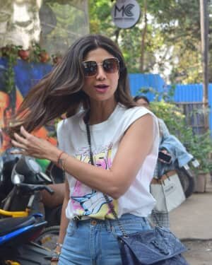 Photos: Shilpa Shetty Spotted Mukesh Chhabra Office | Picture 1776387