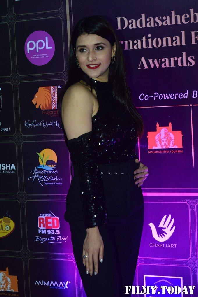 Mannara Chopra - Photos: Celebs At Dadasaheb Phalke Awards 2021 | Picture 1776722
