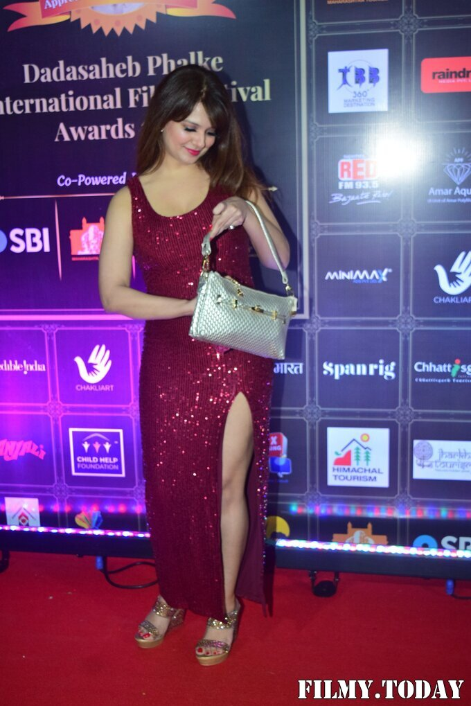 Saloni Aswani - Photos: Celebs At Dadasaheb Phalke Awards 2021 | Picture 1776606