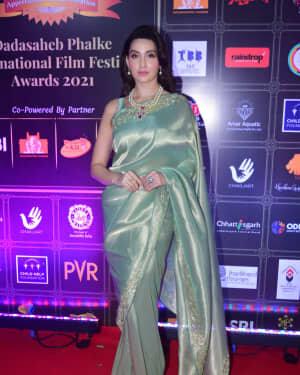 Nora Fatehi - Photos: Celebs At Dadasaheb Phalke Awards 2021 | Picture 1776662