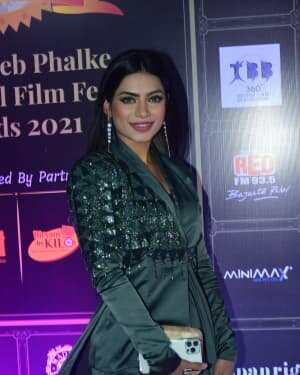 Photos: Celebs At Dadasaheb Phalke Awards 2021