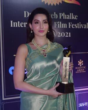 Nora Fatehi - Photos: Celebs At Dadasaheb Phalke Awards 2021 | Picture 1776671