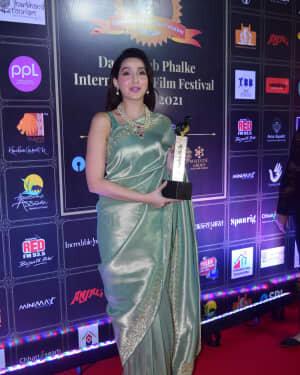 Nora Fatehi - Photos: Celebs At Dadasaheb Phalke Awards 2021 | Picture 1776668