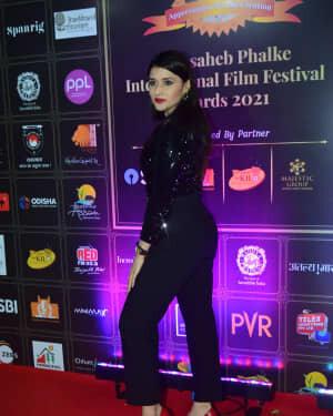 Mannara Chopra - Photos: Celebs At Dadasaheb Phalke Awards 2021 | Picture 1776653