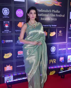 Nora Fatehi - Photos: Celebs At Dadasaheb Phalke Awards 2021 | Picture 1776663