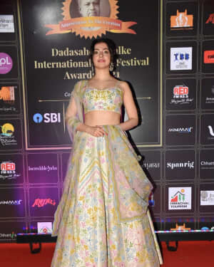 Divya Khosla - Photos: Celebs At Dadasaheb Phalke Awards 2021
