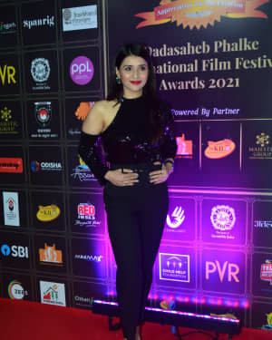 Mannara Chopra - Photos: Celebs At Dadasaheb Phalke Awards 2021 | Picture 1776655