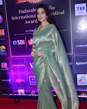 Nora Fatehi - Photos: Celebs At Dadasaheb Phalke Awards 2021 | Picture 1776660