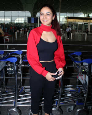 Jasmin Bhasin - Photos: Celebs Spotted At Airport | Picture 1777211
