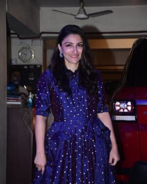 Soha Ali Khan - Photos: Celebs Spotted At Kareena Kapoor's House For New Year Party | Picture 1763719