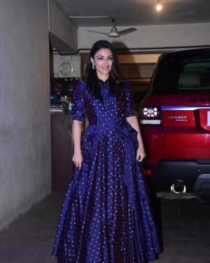 Soha Ali Khan - Photos: Celebs Spotted At Kareena Kapoor's House For New Year Party | Picture 1763718