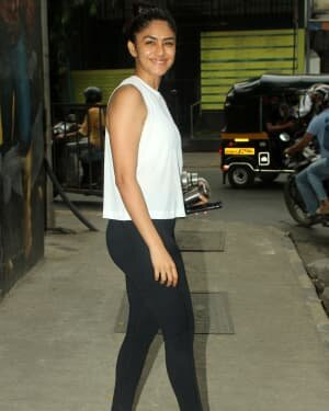 Mrunal Thakur - Photos: Celebs Spotted At Gym