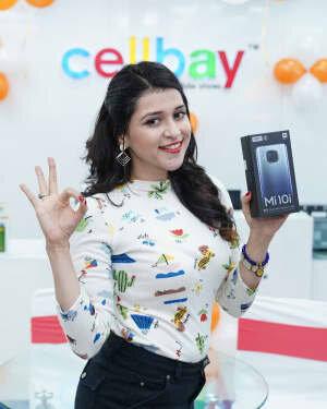 Photos: Mannara Chopra Unveils Xiaomi Mi10i Smartphone | Picture 1765973