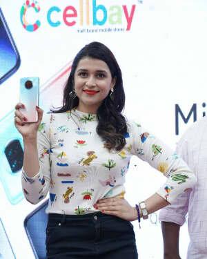 Photos: Mannara Chopra Unveils Xiaomi Mi10i Smartphone | Picture 1765974