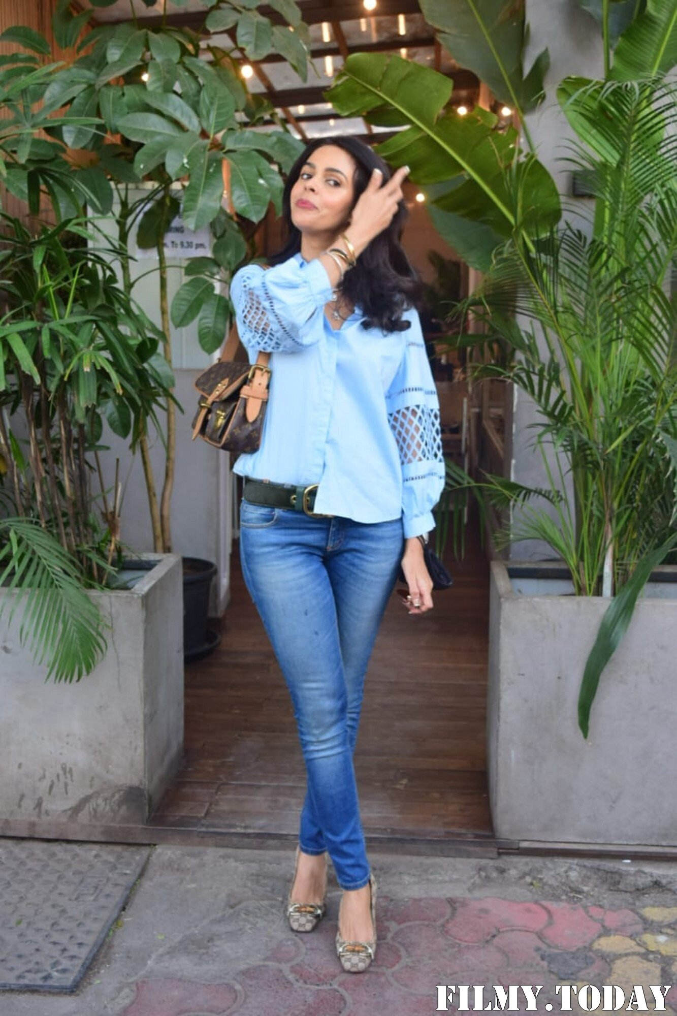 Mallika Sherawat - Photos: Celebs Spotted At Kitchen Garden In Juhu | Picture 1767941