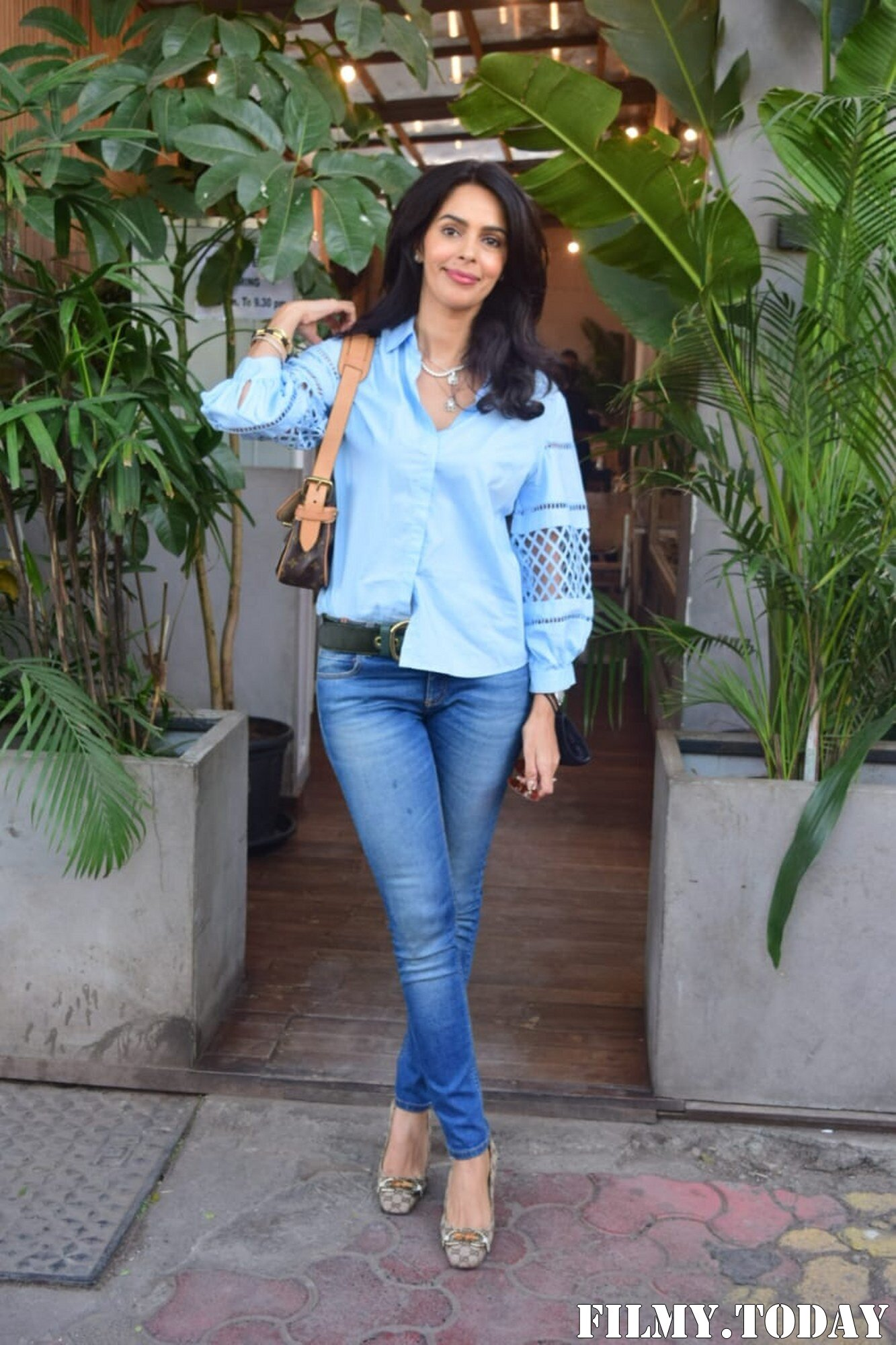 Mallika Sherawat - Photos: Celebs Spotted At Kitchen Garden In Juhu   Picture 1767944