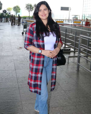 Zareen Khan - Photos: Celebs Spotted At Airport