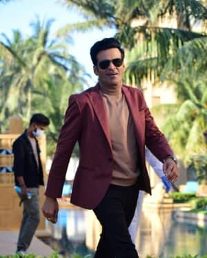 Manoj Bajpai - Photos: Promotion Of Web Series The Family Man Season 2 | Picture 1768639